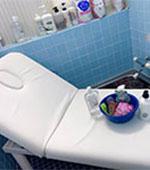 アカスリ・シャワー室