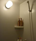 清潔・シャワー完備